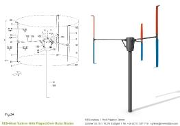 Turbine mit einem Wendeflügel_16