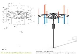 Turbine mit einem Wendeflügel_18