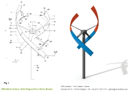 Turbine mit einem Wendeflügel_1