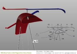 Turbine mit einem Wendeflügel_21